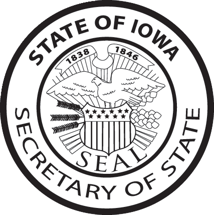 Iowa Secretary of State Seal